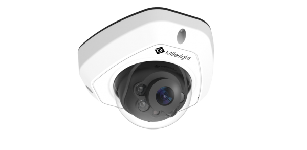 C5373-PB IR Vandal Mini Dome 5.0MP 2,8mm Fixobjektiv